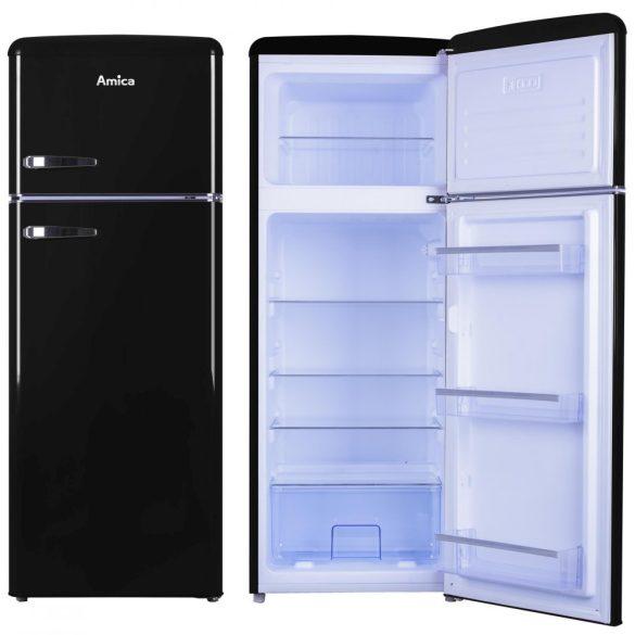 Amica KGC 15634 S Retro Hűtőszekrény